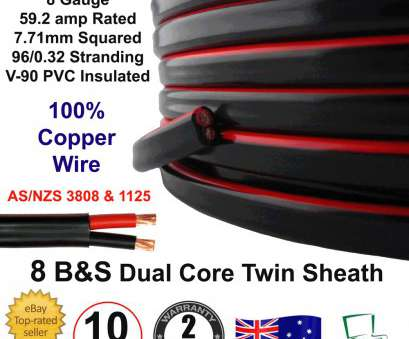 8 gauge wire twin core New, 8B&S DUAL BATTERY CABLE, S Twin 2 Core Auto Metre, 8BS BS Wire 12V, eBay 8 Gauge Wire Twin Core Creative New, 8B&S DUAL BATTERY CABLE, S Twin 2 Core Auto Metre, 8BS BS Wire 12V, EBay Photos