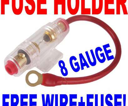 8 gauge wire with fuse IN LINE Fuse Holder with 8 Gauge wire +, AGU Fuse, eBay 8 Gauge Wire With Fuse Creative IN LINE Fuse Holder With 8 Gauge Wire +, AGU Fuse, EBay Solutions