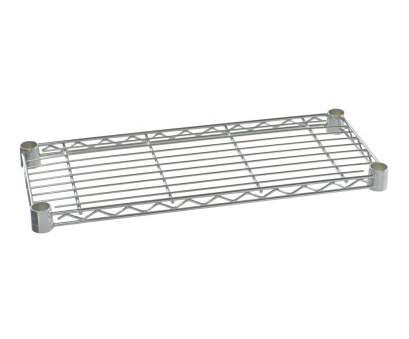 8 inch deep wire shelving 10 x 24 Chrome IP Steel Wire Shelf, Storables 8 Inch Deep Wire Shelving Best 10 X 24 Chrome IP Steel Wire Shelf, Storables Pictures