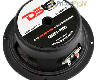 8 ohm speaker wire gauge Details about 4 Pack DS18 PRO-GM6 6.5