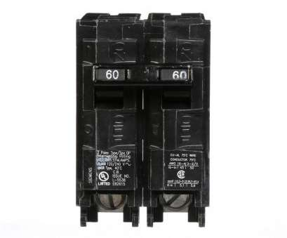 8, Wire Breaker Size Practical Siemens 60, Double-Pole Type QP Circuit Breaker Solutions