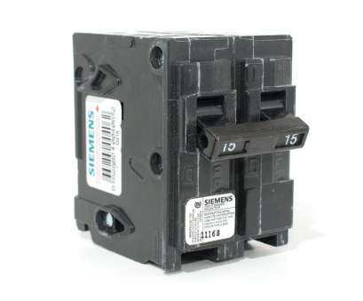 8, Wire Breaker Size Cleaver Siemens, Two Pole Push-On Breaker Ideas