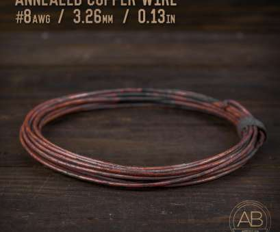 8 awg wire diameter in mm American Bonsai #8, (3.26mm) Annealed Copper Bonsai Training Wire, 25 ft 8, Wire Diameter In Mm Brilliant American Bonsai #8, (3.26Mm) Annealed Copper Bonsai Training Wire, 25 Ft Images