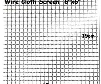 #8 wire mesh screen 3 of 8 Stainless Steel, Mesh Filtration #4 Woven Wire Cloth Screen, x 6 #8 Wire Mesh Screen Simple 3 Of 8 Stainless Steel, Mesh Filtration #4 Woven Wire Cloth Screen, X 6 Collections