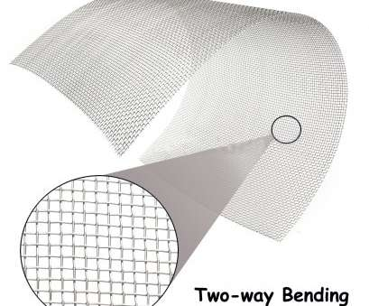 #8 wire mesh screen Details about 30cm * 60cm, Stainless Steel Mesh #8 Wire Cloth Screen, * 24
