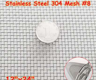 #8 wire mesh screen Stainless Steel, Mesh #8 .035 Wire Cloth Screen 16''x24'' 6957442947810, eBay #8 Wire Mesh Screen Creative Stainless Steel, Mesh #8 .035 Wire Cloth Screen 16''X24'' 6957442947810, EBay Solutions