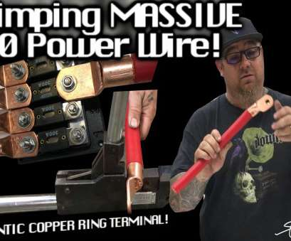 8/0 gauge wire MASSIVE, OFC Power Cable + GIGANTIC Ring Terminal!, Crimp! + Easy Fusing & Distribution, YouTube 8/0 Gauge Wire Cleaver MASSIVE, OFC Power Cable + GIGANTIC Ring Terminal!, Crimp! + Easy Fusing & Distribution, YouTube Galleries