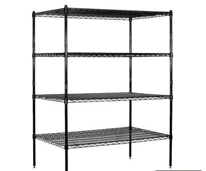 9 inch deep wire shelving Wire Shelving, Stationary, 48 Inches Wide, 63 Inches High, 24 Inches Deep, Black 14 Brilliant 9 Inch Deep Wire Shelving Collections