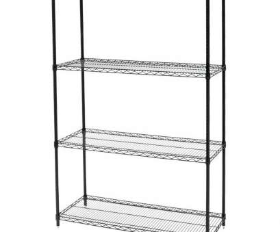 9 white wire shelving 48 x 18 x 74 Black Wire Shelving Unit 9 White Wire Shelving Professional 48 X 18 X 74 Black Wire Shelving Unit Collections