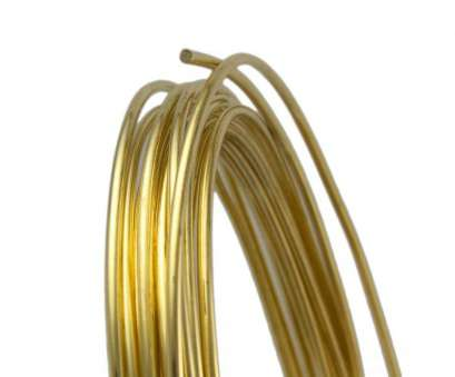 a 14 gauge copper wire of diameter 1.628 14 Gauge Round Half Hard Yellow Brass Wire, 25FT 12 Brilliant A 14 Gauge Copper Wire Of Diameter 1.628 Pictures
