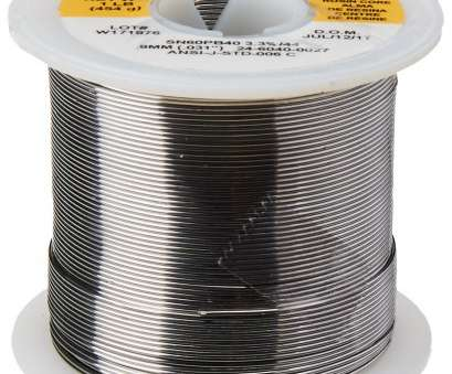 a 22-gauge wire will have a diameter in mils of KESTER SOLDER 32117 24-6040-0027 60/40 Stand, 0.031