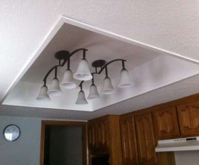 adding a ceiling light box Remove, framed light panel with fluorescent lights- finish, box,, new fixtures!! Kitchen Adding A Ceiling Light Box Fantastic Remove, Framed Light Panel With Fluorescent Lights- Finish, Box,, New Fixtures!! Kitchen Solutions