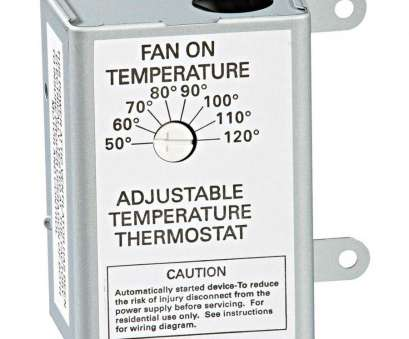 air vent thermostat wiring diagram Shop, Vent Power Roof Vent Thermostat at Lowes.com Air Vent Thermostat Wiring Diagram Creative Shop, Vent Power Roof Vent Thermostat At Lowes.Com Galleries