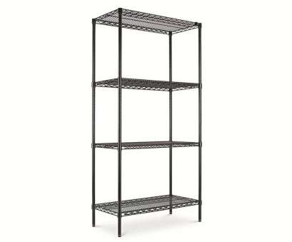 alera black wire shelving ..., Alera® Wire Shelving Starter,, Four-Shelf -,, Black is Alera Black Wire Shelving Most ..., Alera&Reg; Wire Shelving Starter,, Four-Shelf -,, Black Is Pictures