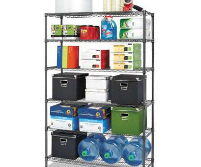 alera black wire shelving Shop Alera Commercial Wire Shelving Six-Shelf 48-inch wide x 18-inch deep x 72-inch high Black Anthracite, Free Shipping Today, Overstock.com, 14138378 Alera Black Wire Shelving Top Shop Alera Commercial Wire Shelving Six-Shelf 48-Inch Wide X 18-Inch Deep X 72-Inch High Black Anthracite, Free Shipping Today, Overstock.Com, 14138378 Photos