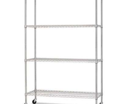 alera wire shelving Alera® Complete Mobile Wire Shelving Unit with 4 Shelves, 2 Locking Casters, 48''W x 18''D x 72''H, Silver Alera Wire Shelving Top Alera® Complete Mobile Wire Shelving Unit With 4 Shelves, 2 Locking Casters, 48''W X 18''D X 72''H, Silver Solutions