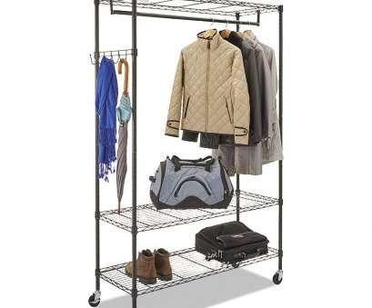 alera wire shelving garment rack Alera Wire Shelving Garment Rack (Black) 16 Practical Alera Wire Shelving Garment Rack Solutions