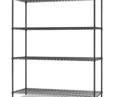 alera wire shelving garment rack costco Amazing Alera Wire Shelving Shop 6 Ft X 24 In Black Anthracite Shelf At Lowe Com 14 Creative Alera Wire Shelving Garment Rack Costco Photos