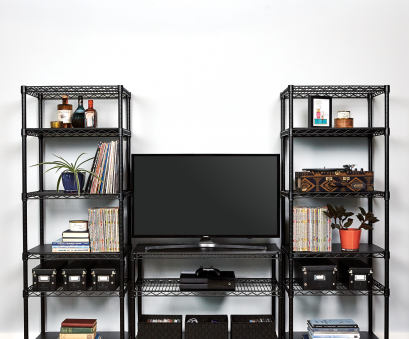 alera wire shelving garment rack costco Wire Racks · Expand your media room space with a custom console solution with Storables Industrial Post Shelving Alera Wire Shelving Garment Rack Costco Simple Wire Racks · Expand Your Media Room Space With A Custom Console Solution With Storables Industrial Post Shelving Collections