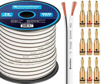 amazon speaker wire 14 gauge Amazon.com: InstallGear 14 Gauge, 100ft Speaker Wire Cable, White with 12 Banana Plugs: Automotive Amazon Speaker Wire 14 Gauge Brilliant Amazon.Com: InstallGear 14 Gauge, 100Ft Speaker Wire Cable, White With 12 Banana Plugs: Automotive Ideas