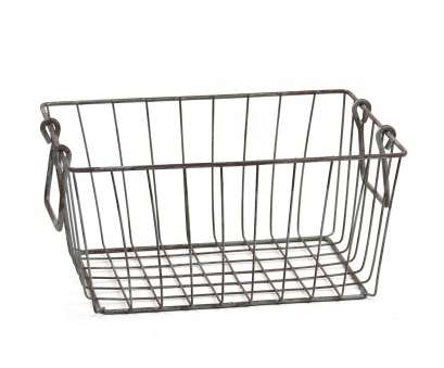 amazon wire mesh baskets Amazon.com: Skalny Rectangle Wire Storage Container, 10 x, x 4.5