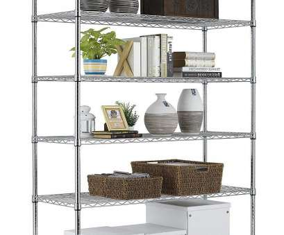 amazon wire shelving Amazon.com: PayLessHere Chrome 6 Shelf Commercial Adjustable Steel shelving systems On wheels wire shelves, shelving unit or garage shelving, storage racks: Amazon Wire Shelving Practical Amazon.Com: PayLessHere Chrome 6 Shelf Commercial Adjustable Steel Shelving Systems On Wheels Wire Shelves, Shelving Unit Or Garage Shelving, Storage Racks: Images