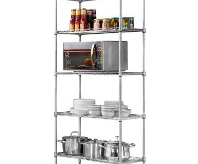 amazon wire shelving LANGRIA 5 Tier Stand Storage Rack, Kitchen Wire Shelving with Spice Rack Organizer, Silver Amazon Wire Shelving Practical LANGRIA 5 Tier Stand Storage Rack, Kitchen Wire Shelving With Spice Rack Organizer, Silver Collections
