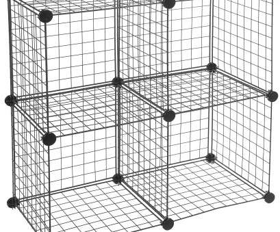 amazonbasics 6 cube wire storage shelves - black Amazon.com: AmazonBasics 6 Cube Wire Storage Shelves, Black: Home & Kitchen 16 Cleaver Amazonbasics 6 Cube Wire Storage Shelves, Black Photos