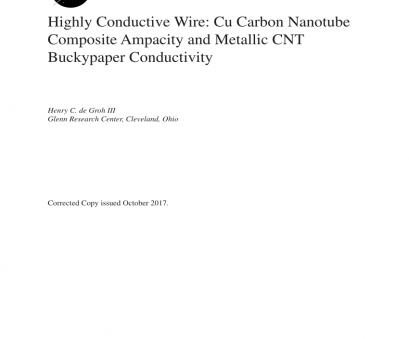 ampacity of 22 gauge wire (PDF) Highly Conductive Wire: Cu Carbon Nanotube Composite Ampacity, Metallic, Buckypaper Conductivity Ampacity Of 22 Gauge Wire Best (PDF) Highly Conductive Wire: Cu Carbon Nanotube Composite Ampacity, Metallic, Buckypaper Conductivity Ideas