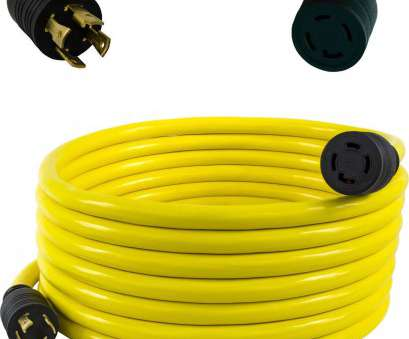 amps on 10 gauge wire 30, 40 FT NEMA L14-30 4 Wire 10 Gauge 125/250V Generator Power Cord 20601-040 #equipment #light #tools #transfer #switches #industrial #business #gauge Amps On 10 Gauge Wire Brilliant 30, 40 FT NEMA L14-30 4 Wire 10 Gauge 125/250V Generator Power Cord 20601-040 #Equipment #Light #Tools #Transfer #Switches #Industrial #Business #Gauge Pictures
