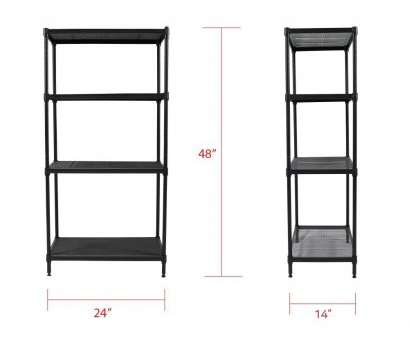 Apollo Hardware Chrome 4-Shelf Wire Shelving 14 X 15 X 48 Most Amazon.Com: Apollo Hardware Galleries