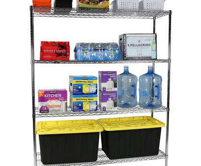 Apollo Hardware Chrome 4-Shelf Wire Shelving 14 X 15 X 48 Popular Amazon.Com: Apollo Hardware Commercial Grade Chrome 4-Shelf, Wire Shelving Rack, 18