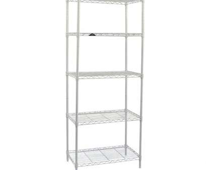 Apollo Hardware Chrome 4-Shelf Wire Shelving 14 X 15 X 48 New Amazon.Com: Apollo Hardware White 5-Shelf Wire Shelving 14