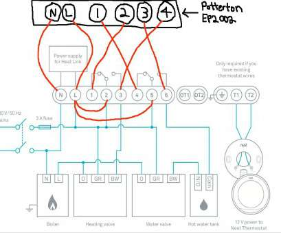 Nest Room Thermostat Wiring Diagram on