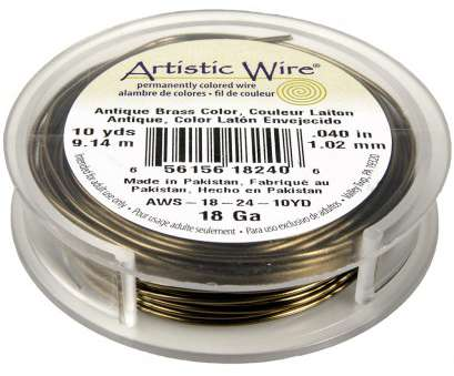 artistic wire 26 gauge natural 18-Gauge Artistic Wire, Artistic Wire, Jewelry Wire, Rings & Things Artistic Wire 26 Gauge Natural Most 18-Gauge Artistic Wire, Artistic Wire, Jewelry Wire, Rings & Things Galleries
