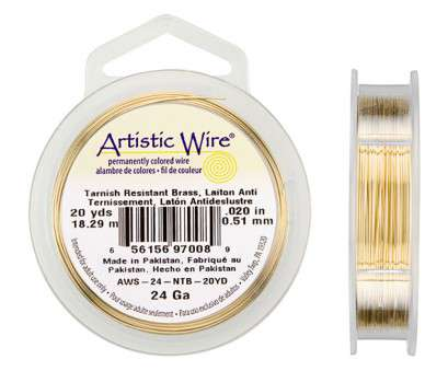 artistic wire 26 gauge natural 24-Gauge Brass Non-Tarnish Artistic Wire 20-Yard Spool Artistic Wire 26 Gauge Natural Best 24-Gauge Brass Non-Tarnish Artistic Wire 20-Yard Spool Ideas