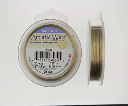 artistic wire 26 gauge natural 26 Gauge, Gold Artistic Wire, yards) (2) Artistic Wire 26 Gauge Natural Simple 26 Gauge, Gold Artistic Wire, Yards) (2) Pictures