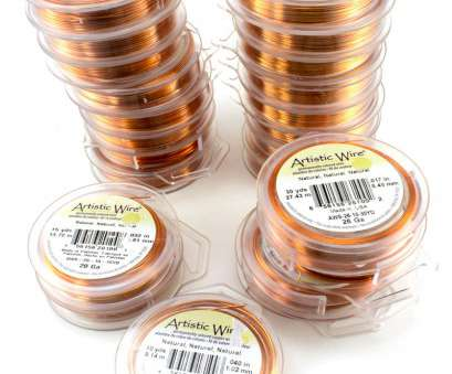 artistic wire 26 gauge natural Artistic Wire, of 5 Gauges Natural Copper Color 1 of 1Only 2 available Artistic Wire 26 Gauge Natural Professional Artistic Wire, Of 5 Gauges Natural Copper Color 1 Of 1Only 2 Available Solutions