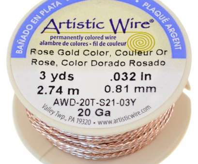 artistic wire 26 gauge natural Rose Gold Silver Plated Artistic Wire, Artistic Wire, Jewelry Artistic Wire 26 Gauge Natural Best Rose Gold Silver Plated Artistic Wire, Artistic Wire, Jewelry Photos