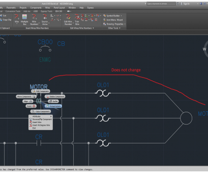 Autocad Electrical Wire Number Size Nice Electromechanical