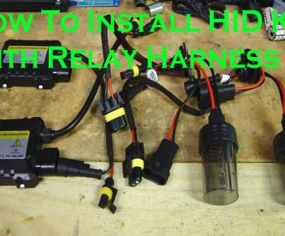 automotive hid ballast wiring diagram How To Install, Kit Light with Relay Harness Automotive, Ballast Wiring Diagram Brilliant How To Install, Kit Light With Relay Harness Ideas