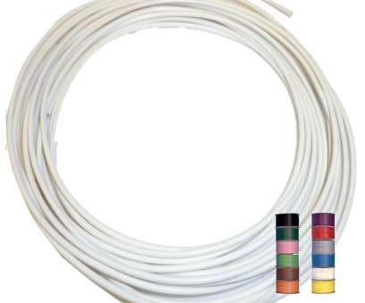 automotive electrical wire tracer WHITE (+ 11 TRACERS), THINWALL 1mm2 Automotive Cable/Wire 16.5A -, 5 metres Automotive Electrical Wire Tracer Perfect WHITE (+ 11 TRACERS), THINWALL 1Mm2 Automotive Cable/Wire 16.5A -, 5 Metres Collections