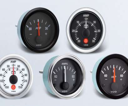 automotive amp meter wiring diagram Ammeter, By Type, Instruments, Displays, Clusters, VDO Automotive, Meter Wiring Diagram Simple Ammeter, By Type, Instruments, Displays, Clusters, VDO Ideas