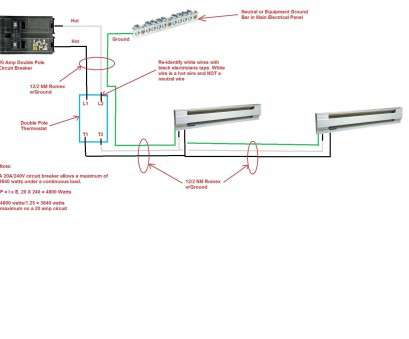12 Practical Baseboard Heater Thermostat Wiring Diagram Ideas