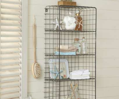 bathroom wire wall shelves Wire Shelves, Treasure Hunter Well Designed Quirky Wire Wall Storage Bathroom Cabinet Ikea Bathroom Storage 12 Brilliant Bathroom Wire Wall Shelves Ideas