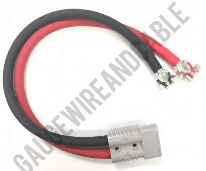 battery wire gauge diameter 1/0, (0 GAUGE) CUSTOM MADE BATTERY CABLE ASSEMBLY WITH ANDERSON SB175 PLUG TO YOUR CHOICE OF CONNECTORS ON OTHER END Battery Wire Gauge Diameter Fantastic 1/0, (0 GAUGE) CUSTOM MADE BATTERY CABLE ASSEMBLY WITH ANDERSON SB175 PLUG TO YOUR CHOICE OF CONNECTORS ON OTHER END Galleries