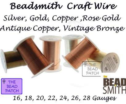 beadsmith 26 gauge wire 26 Gauge, Bead Smith Tarnish Resistant Craft Wire, Gold Beadsmith 26 Gauge Wire Brilliant 26 Gauge, Bead Smith Tarnish Resistant Craft Wire, Gold Collections