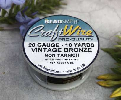 beadsmith 26 gauge wire Beadsmith Antique Brass Color Copper Craft Wire 26 Gauge, 30 Yards Beadsmith 26 Gauge Wire Brilliant Beadsmith Antique Brass Color Copper Craft Wire 26 Gauge, 30 Yards Pictures