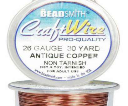 beadsmith 26 gauge wire Get Quotations · Antique Copper 26GA Craft Wire Jewelry Beading Wrapping 30, 27.4 Meters Beadsmith 26 Gauge Wire Fantastic Get Quotations · Antique Copper 26GA Craft Wire Jewelry Beading Wrapping 30, 27.4 Meters Galleries