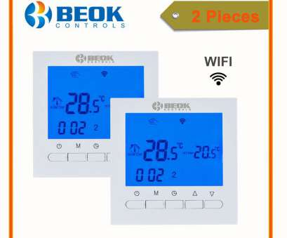 Beok Thermostat Wiring Diagram Practical 2, BEOK, 313 WIFI, Boiler Thermostat, Voltage Blue Backlight Boiler Heating Temperature Regulator, Control-In Temperature Instruments From Galleries
